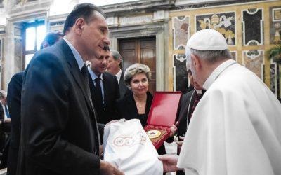 Papa Francesco alla Fondazione Giorgio Castelli