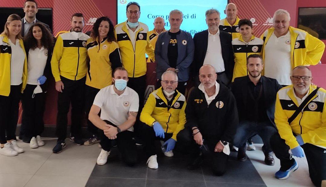 As Roma e Fondazione Giorgio Castelli: Effetto Mourinho